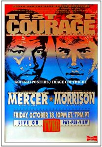 Ray Mercer vs Tommy Morrison Oct 18 1991