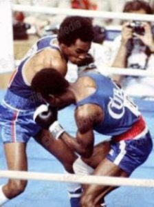 Sugar Ray Leonard Andrés Aldama Olympics July 31 1976
