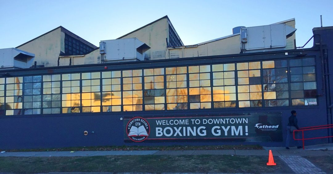 Downtown Boxing Gym Detroit Michigan