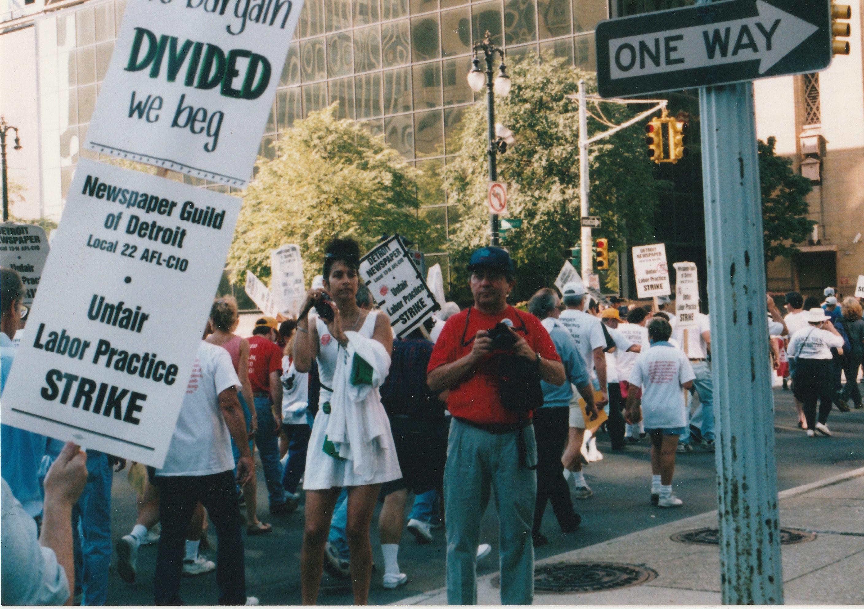 detroit newspaper strike 1995